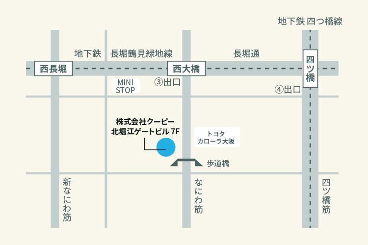 株式会社CooPii マップ